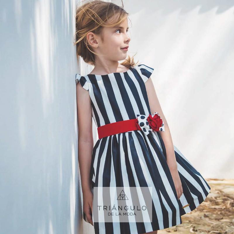 Tienda online del Triangulo de la Moda Vestido rayas marinero