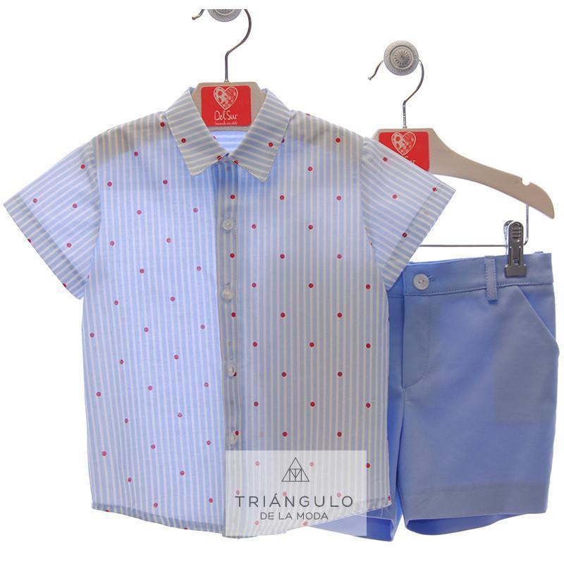 Tienda online del Triangulo de la Moda Traje inf. niño  pantalon bermuda