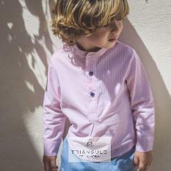 Tienda online del Triangulo de la Moda Conjunto  dos piezas niño tazas azul