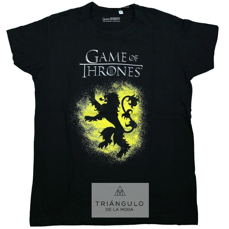 Tienda online del Triangulo de la Moda Camiseta game of thrones adulto